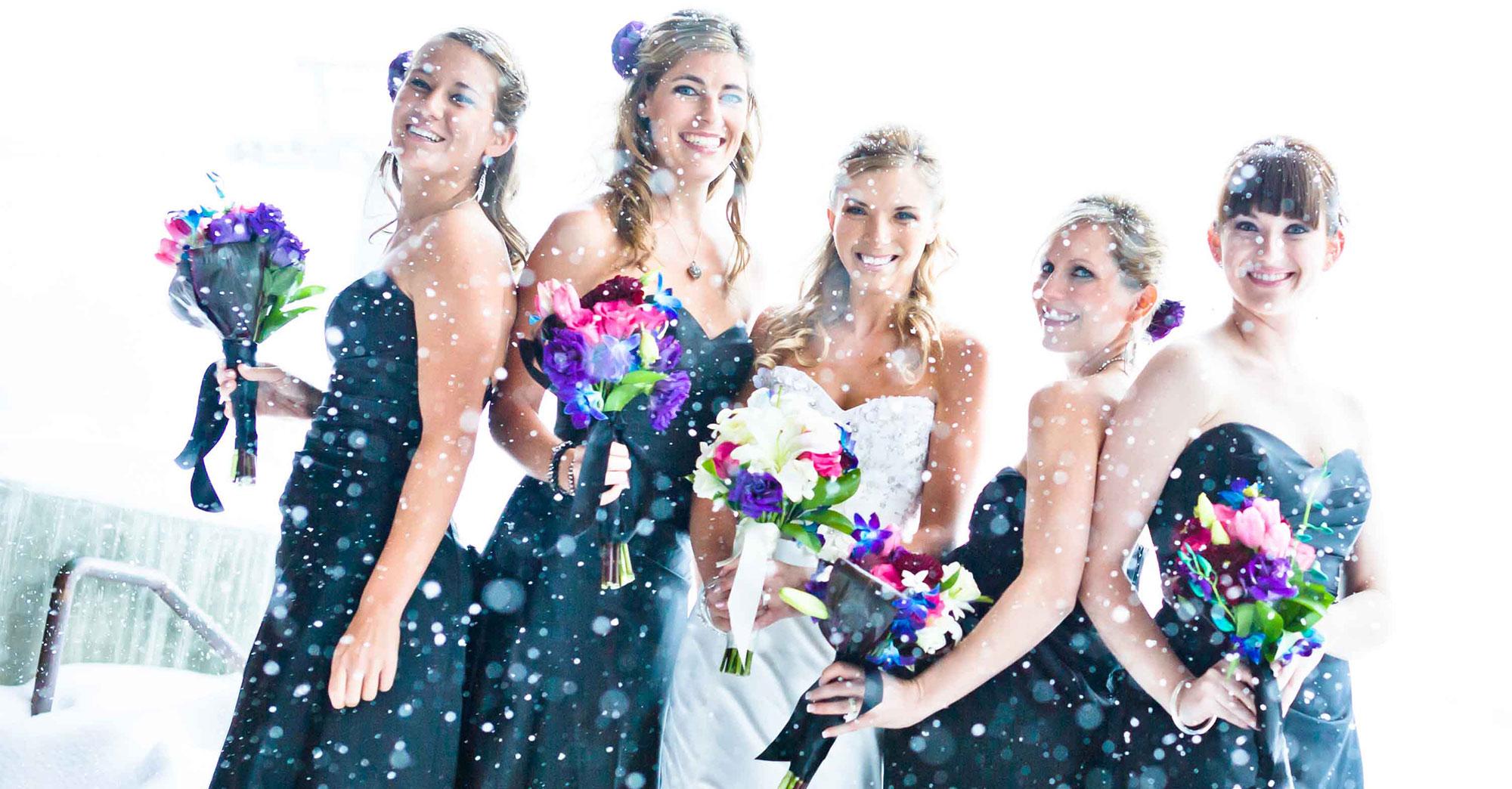 Kay & Wesley's Mammoth Wedding featured slider image