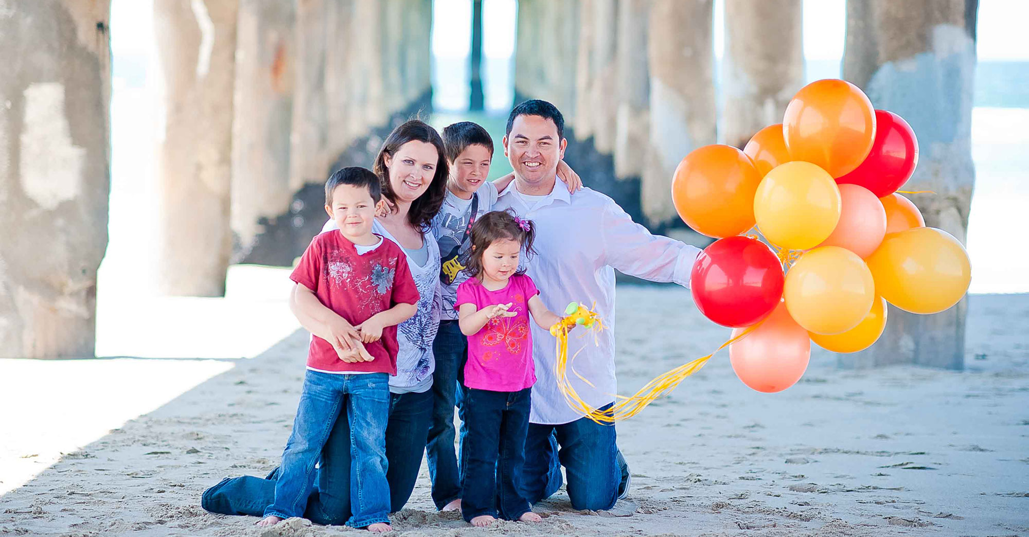 Scott Family – Manhattan Beach Family Photography featured slider image