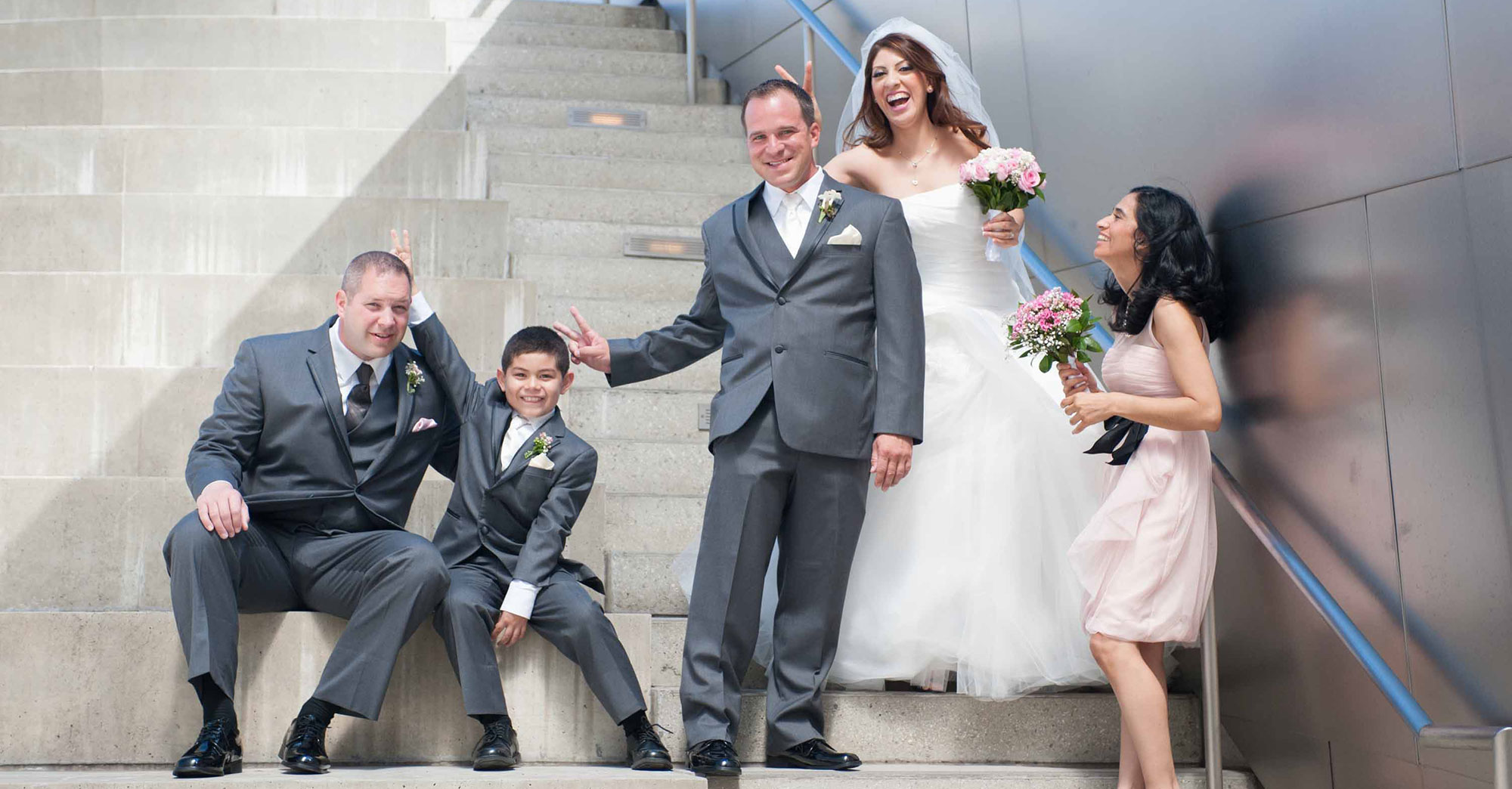 Jen & Tim's Downtown L.A. Wedding featured slider image