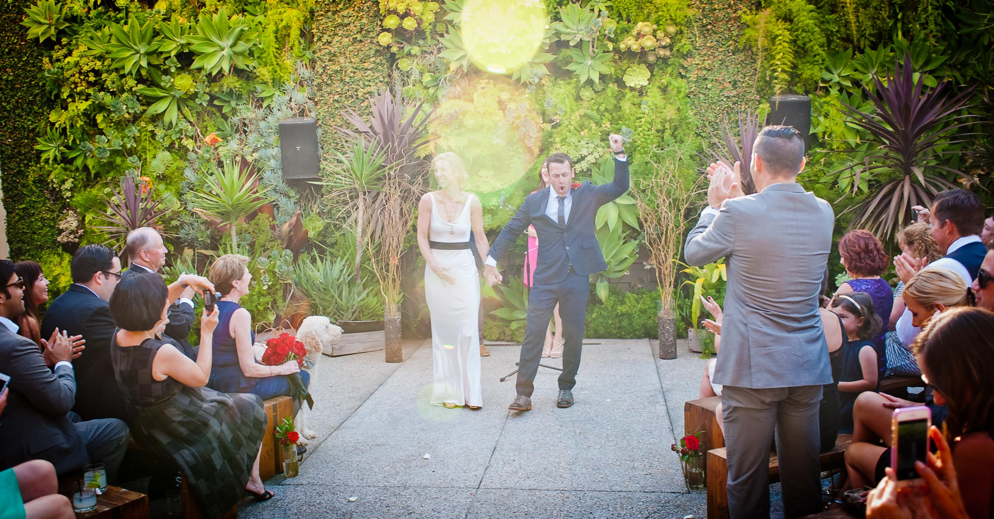 Jessica & Drew's Smog Shoppe Wedding featured slider image