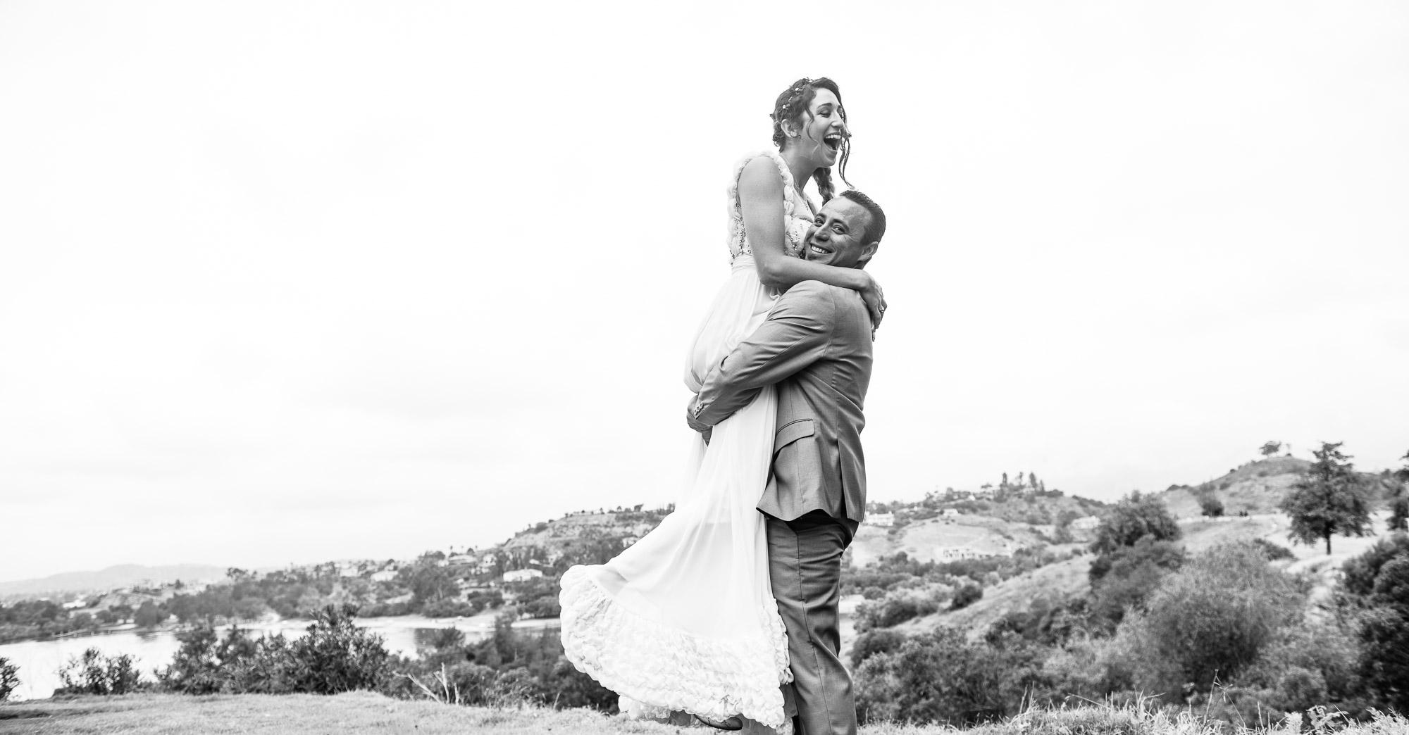 Nichole & Andrew's Los Angeles DIY Wedding featured slider image