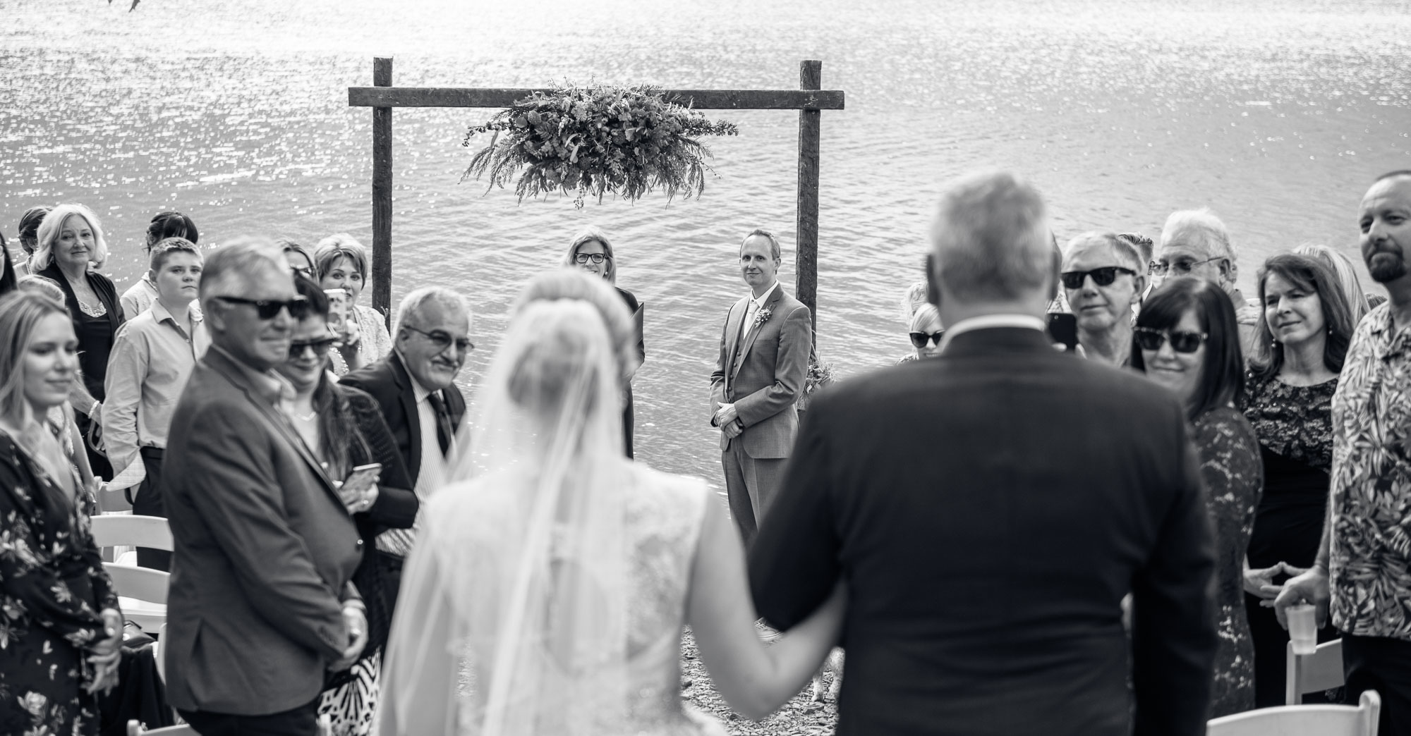 Stephanie & Taylor's Mammoth Lakes Wedding – Convict Lake Wedding featured slider image
