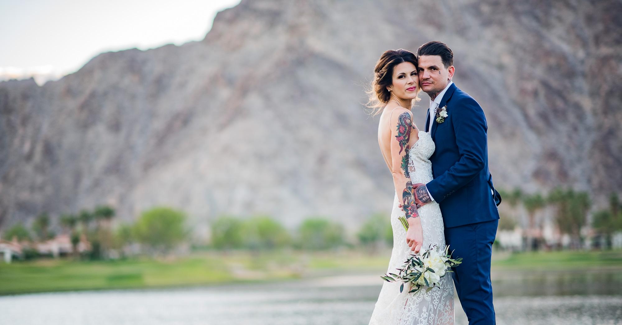 Stephanie & Tony's PGA West Wedding – Palm Springs featured slider image